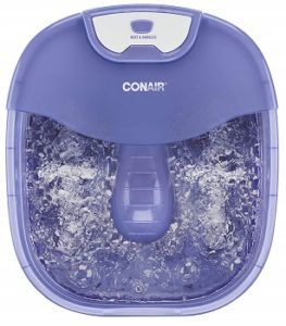 Conair Heat Sense Foot SpaPedicure Spa with Massaging Foot Rollers