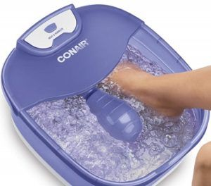Conair Heat Sense Foot SpaPedicure Spa with Massaging Foot Rollers review