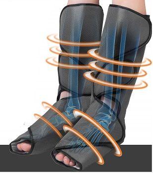 FIT KING Leg Air Massager 3 Intensities 2 Modes review