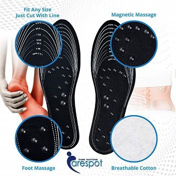 Carespot Magnet Massage Shoe Pads review