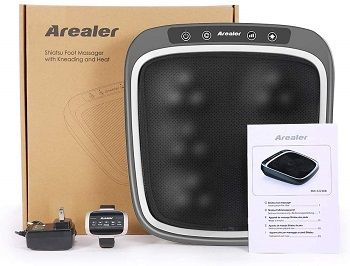 Arealer Foot Massager With Remote Control And Built-In Infrared Light review